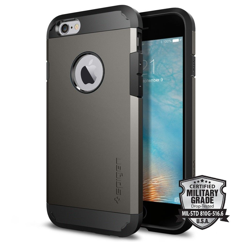 iphone 6s apple maska spigen sgp quot tough armor quot za iphone 6 6s gunmetal 11462