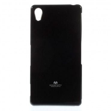TPU gel maska Goospery Jelly Case za Sony Xperia Z3 - crna