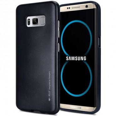 TPU gel maska Goospery iJelly Case za Samsung Galaxy S8 - crna