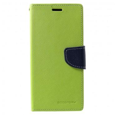 Torbica Goospery Fancy Diary za Samsung Galaxy A7 2018 - zelena