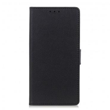 """Elegantna torbica Litchi"""" za Samsung Galaxy Note 10 Plus - crna"""