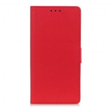 "Elegantna torbica Litchi"" za Samsung Galaxy Note 10 Plus - crvena"