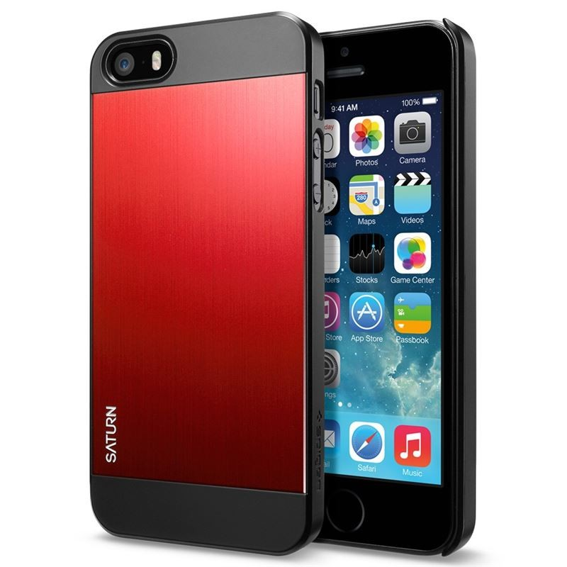 maska spigen sgp saturn za iphone 5 5s metal red. Black Bedroom Furniture Sets. Home Design Ideas