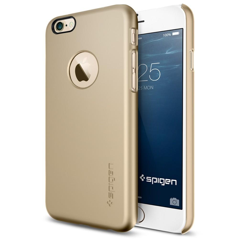 Maska Spigen SGP u0026quot;Thin Fit Au0026quot; za iPhone 6 / 6S - champagne gold ...